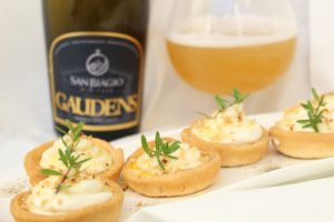 Schiacciatine di patate alla birra artigianale Gaudens
