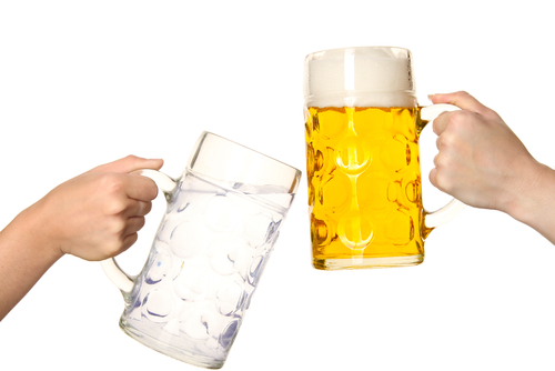 birra artigianale acqua nocera umbra boccali