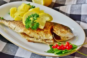 birra artigianale pesce arrosto