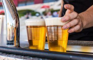 birra e patatine birra chiara