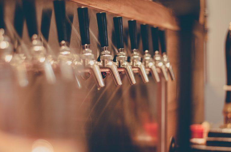 birre artigianali alla spina rubinetti
