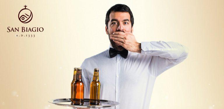 birra artigianale errori diffusi cameriere