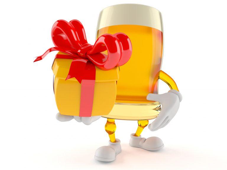 consigli per regalare una birra regalo fiocco