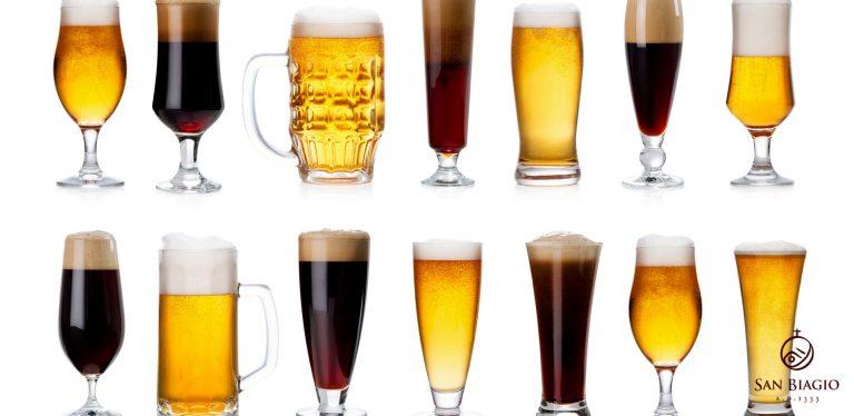 stili di birra bicchieri
