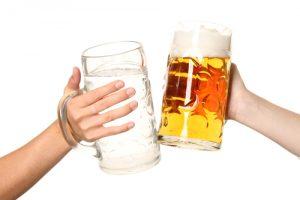 acqua per birra