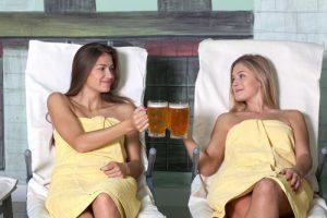 spa alla birra relax
