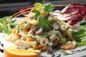 menu vigilia di natale insalata di mare