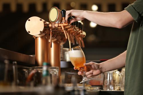 birra artigianale per pub rubinetti